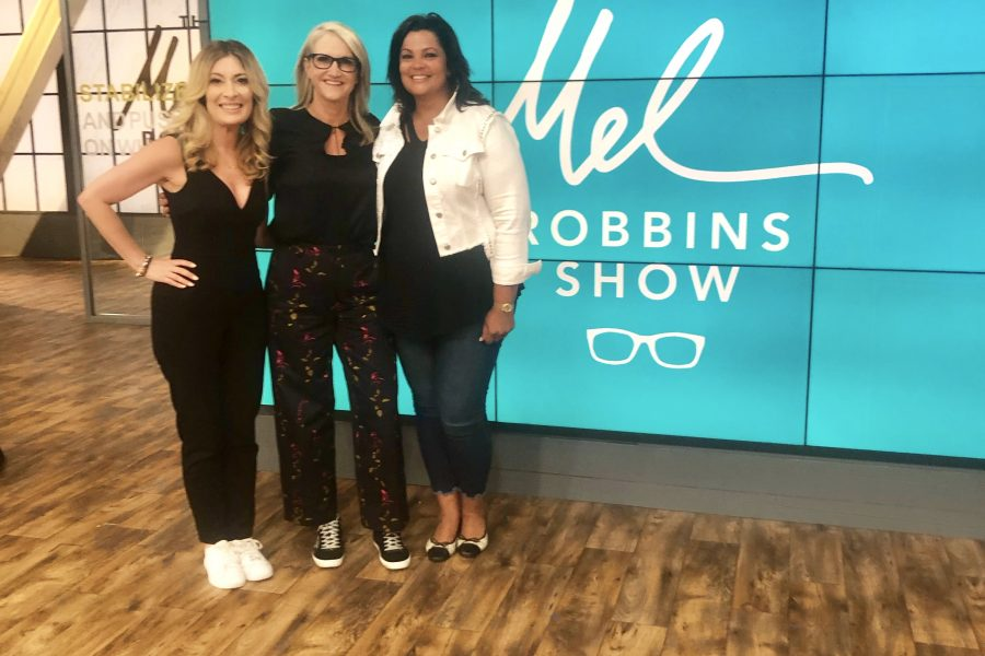 At Mel Robbins daytime talk show